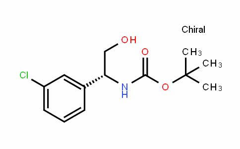 (R)-N-BOC-间溴苯甘氨醇
