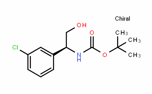 CarbaMic acid, N-[(1S)-1-(3-chlorophenyl)-2-hyDroxyethyl]-, 1,1-DiMethylethyl ester