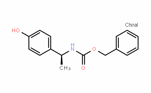 CarbaMic acid, N-[(1S)-1-(4-hyDroxyphenyl)ethyl]-, phenylMethyl ester