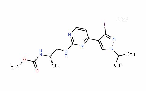 CarbaMic acid, N-[(1S)-2-[[4-[3-ioDo-1-(1-Methylethyl)-1H-pyrazol-4-yl]-2-pyriMiDinyl]aMino]-1-Methylethyl]-, Methyl ester