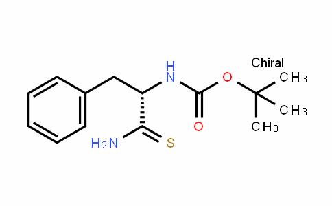 CarbaMic acid, N-[(1S)-2-aMino-1-(phenylMethyl)-2-thioxoethyl]-, 1,1-DiMethylethyl ester
