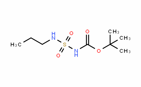Carbamic acid, N-[(propylamino)sulfonyl]-, 1,1-Dimethylethyl ester
