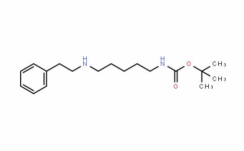 CarbaMic acid, N-[5-[(2-phenylethyl)aMino]pentyl]-, 1,1-DiMethylethyl ester