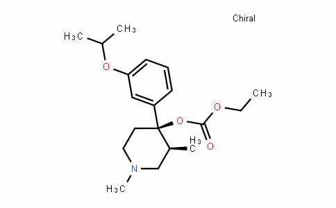 Carbonic acid, (3S,4R)-1,3-Dimethyl-4-[3-(1-methylethoxy)phenyl]-4-piperiDinyl ethyl ester (9CI)