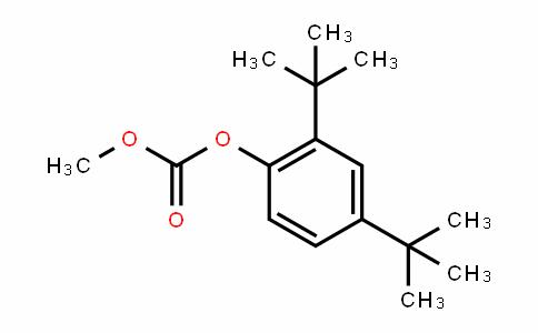Carbonic acid, 2,4-bis(1,1-Dimethylethyl)phenyl methyl ester