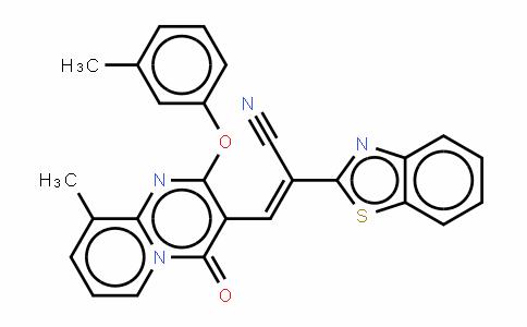 alpha-[[9-甲基-2-(3-甲基苯氧基)-4-氧代-4H-吡啶并[1,2-a]嘧啶-3-基]亚甲基]-2-苯并噻唑乙腈