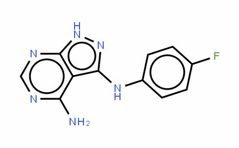 N3-(4-氟苯基)-1H-吡唑并[3,4-D]嘧啶-3,4-二胺