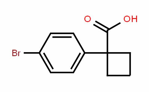 1-(4-溴苯基)环丁烷羧酸