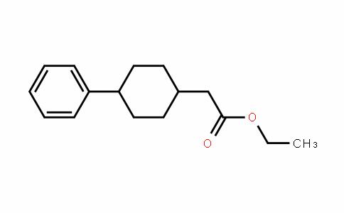 Cyclohexaneacetic acid, 4-phenyl-, ethyl ester