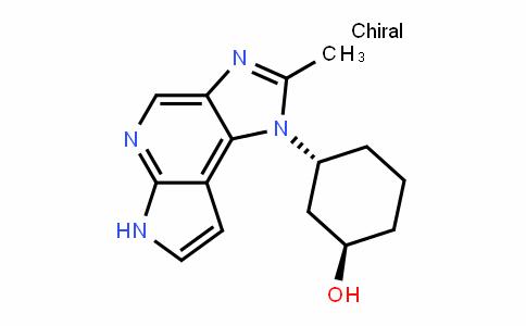 Cyclohexanol, 3-(2-MethyliMiDazo[4,5-D]pyrrolo[2,3-b]pyriDin-1(6H)-yl)-, (1R,3R)-