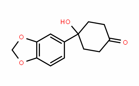 Cyclohexanone, 4-(1,3-benzoDioxol-5-yl)-4-hyDroxy-