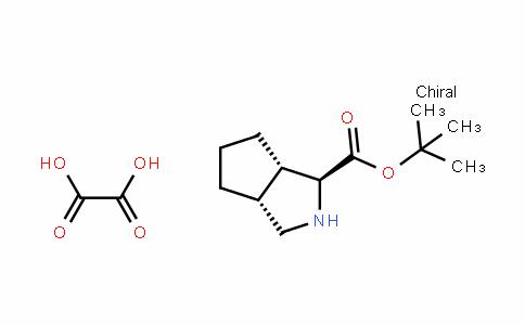 Cyclopenta[c]pyrrole-1-carboxylic acid, octahyDro-, 1,1-Dimethylethyl ester, (1S,3aR,6aS)-, ethaneDioate (1:1)