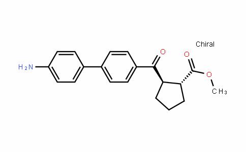 Cyclopentanecarboxylic acid, 2-[(4'-amino[1,1'-biphenyl]-4-yl)carbonyl]-, methyl ester, (1R,2R)-