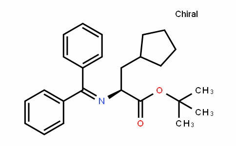 Cyclopentanepropanoic acid, α-[(DiphenylMethylene)aMino]-, 1,1-DiMethylethyl ester, (αS)-