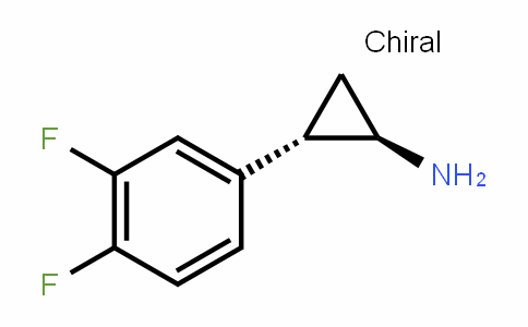 CyclopropanaMine, 2-(3,4-Difluorophenyl)-, (1R,2S)-rel-