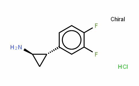 Cyclopropanamine, 2-(3,4-Difluorophenyl)-, hyDrochloriDe (1:1), (1R,2S)-