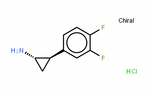 Cyclopropanamine, 2-(3,4-Difluorophenyl)-, hyDrochloriDe (1:1), (1R,2S)-rel-