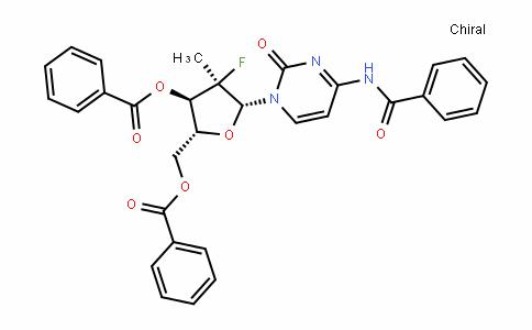 CytiDine, N-benzoyl-2'-Deoxy-2'-fluoro-2'-methyl-, 3',5'-Dibenzoate, (2'R)-