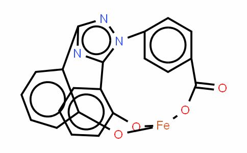 Deferasirox (Fe3+ chelate)