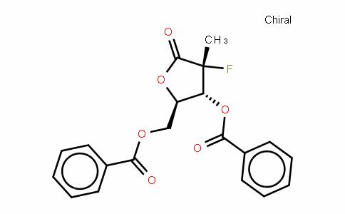 D-erythro-Pentonic acid, 2-Deoxy-2-fluoro-2-methyl-, γ-lactone, 3,5-Dibenzoate, (2R)-