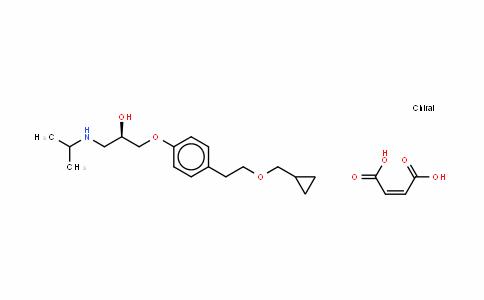 Dextrobetaxolol (Z)-2-buteneDioate salt