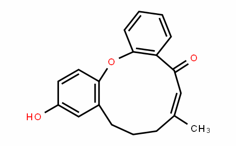 Dibenz[b,j]oxacyclounDecin-5(8H)-one, 9,10-DihyDro-12-hyDroxy-7-Methyl-, (6E)-