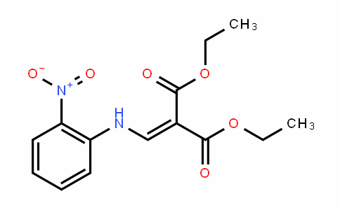 Diethyl 2-((2-nitrophenylamino)methylene)malonate