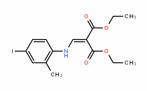 Diethyl 2-((4-ioDo-2-methylphenylamino)methylene)malonate