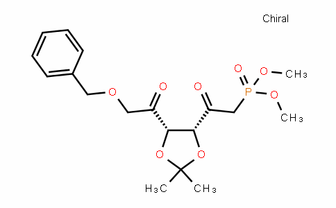 Dimethyl 2-((4R,5S)-5-(2-(benzyloxy)acetyl)-2,2-Dimethyl-1,3-Dioxolan-4-yl)-2-oxoethylphosphonate