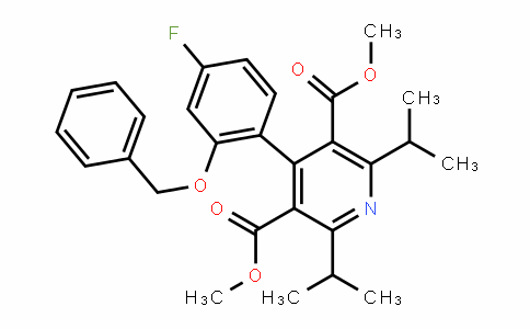 Dimethyl 4-(2-(benzyloxy)-4-fluorophenyl)-2,6-DiisopropylpyriDine-3,5-Dicarboxylate