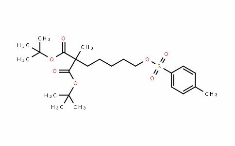 Di-Tert-butyl 2-methyl-2-(5-(tosyloxy)pentyl)malonate