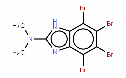 2-二甲基氨基-4,5,6,7-四溴苯并咪唑