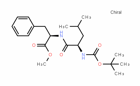 D-Phenylalanine, N-[(1,1-diMethylethoxy)carbonyl]-D-leucyl-, Methyl ester