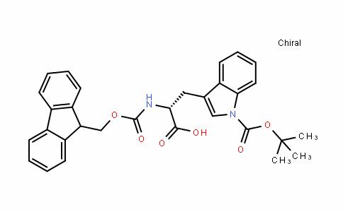 D-Tryptophan, 1-[(1,1-diMethylethoxy)carbonyl]-N-[(9H-fluoren-9-ylMethoxy)carbonyl]-