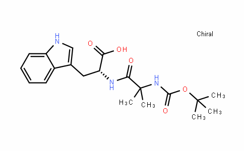N-[N-[(1,1-二甲基乙氧基)羰基]-2-甲基丙氨酰]-D-色氨酸