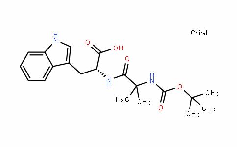 D-Tryptophan, N-[(1,1-dimethylethoxy)carbonyl]-2-methylalanyl-