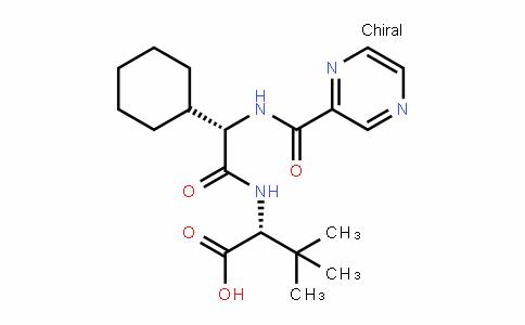 D-Valine, (2S)-2-cyclohexyl-N-(2-pyrazinylcarbonyl)glycyl-3-methyl-