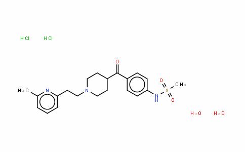 N-[4-[[1-[2-(6-甲基-2-吡啶基)乙基]-4-哌啶基]羰基]苯基]甲烷磺酰胺二盐酸盐