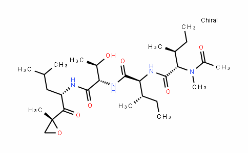 N-乙酰基-N-甲基-L-异亮氨酰-L-异亮氨酰-N-[(1S)-3-甲基-1-[[(2R)-2-甲基-2-环氧乙烷基]羰基]丁基]-L-苏氨酰胺