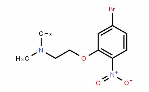 EthanaMine, 2-(5-broMo-2-nitrophenoxy)-N,N-diMethyl-