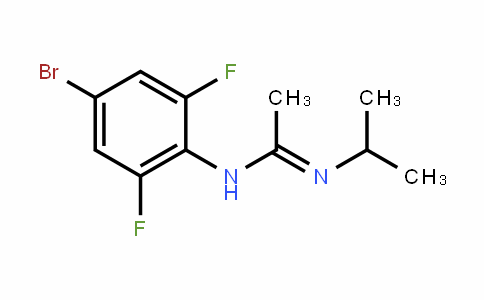 EthaniMidaMide, N-(4-broMo-2,6-difluorophenyl)-N'-(1-Methylethyl)-