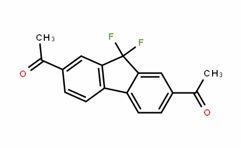 Ethanone, 1,1'-(9,9-difluoro-9H-fluorene-2,7-diyl)bis-