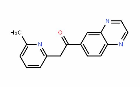 Ethanone, 2-(6-Methyl-2-pyridinyl)-1-(6-quinoxalinyl)-