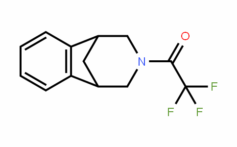 Ethanone, 2,2,2-trifluoro-1-(1,2,4,5-tetrahydro-1,5-methano-3H-3-benzazepin-3-yl)-