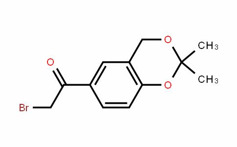 Ethanone, 2-bromo-1-(2,2-dimethyl-4H-1,3-benzodioxin-6-yl)-