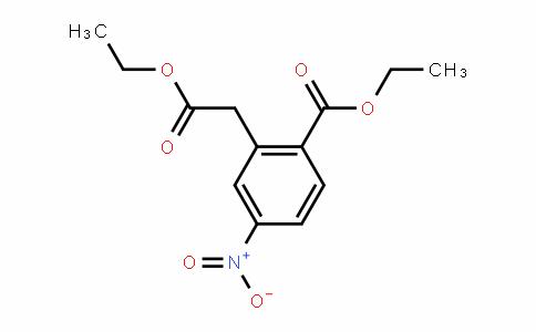 ethyl 2-(2-ethoxy-2-oxoethyl)-4-nitrobenzoate