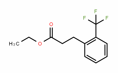 ethyl 3-(2-(trifluoromethyl)phenyl)propanoate