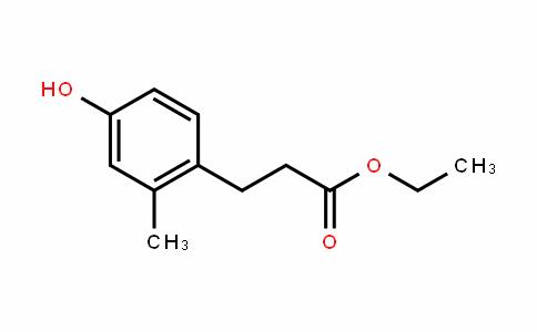 ethyl 3-(4-hydroxy-2-methylphenyl)propanoate