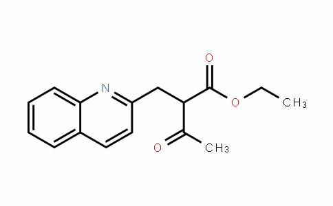 Ethyl 3-oxo-2-(2-quinolinylMethyl)butanoate