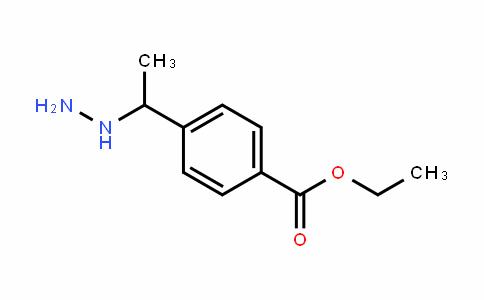 ethyl 4-(1-hydrazinylethyl)benzoate